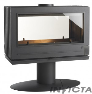 Invicta Nelson double sided fireplace