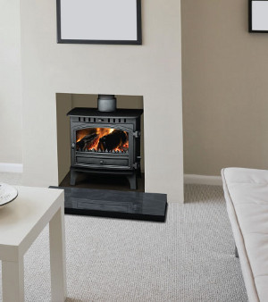 Hunter Herald 8 Multi-Fuel Stove - click for more photos or information...