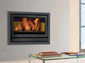 Solzaima Rialto wood burning Fireplace