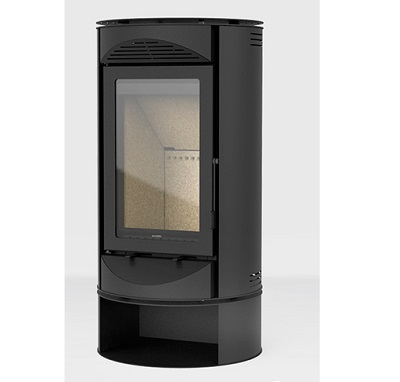 Solzaima Tek Roll modern wood burning stove