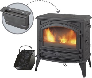 Dovre Freestanding Fireplace 760GM WITH HOPPER - click for more photos or information...