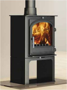 Cleanburn Hunter Sonderskoven multifuel burning stove