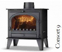 Parkray Consort 9 multifuel stove